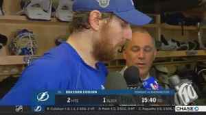 News video: Braydon Coburn on trying to slow down Alex Ovechkin