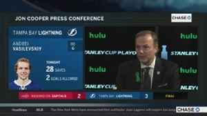 News video: Jon Cooper on how Lightning have won 3 straight against Capitals