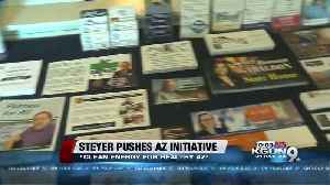 News video: Picketers gather to rally against Tom Steyer