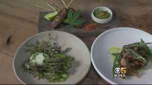 News video: Fine Cannabis Cuisine May Be The Next Big Thing In SF