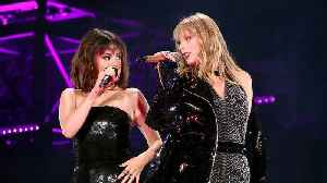 News video: Taylor Swift Reunites With Best Friend Selena Gomez For Surprise Performance!
