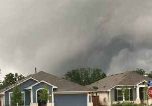 News video: Ominous Skies Churn as Severe Storms Sweep Through Austin Area
