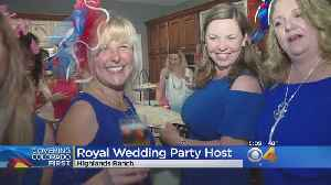 News video: Prince Harry Fans Get Up Early For Royal Wedding