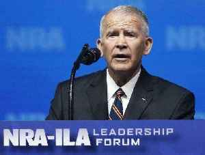 NRA boss Oliver North blames Ritalin, 'culture of violence' for school shootings