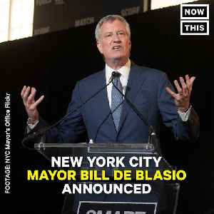 News video: NYC Mayor Bill de Blasio Promises Overhaul Of Weed Enforcement