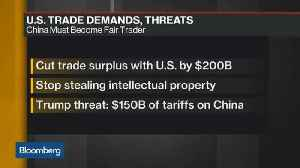 News video: U.S.-China Trade War on Hold for Now