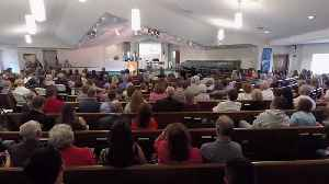 News video: Texas School Shooting Victims Honored At Sunday Church Service