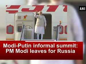 News video: Modi-Putin informal summit: PM Modi leaves for Russia