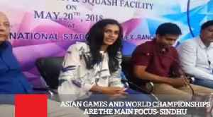 News video: Asian Games And World Championships Are The Main Focus : Sindhu
