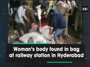 Woman's body found in bag at railway station in Hyderabad