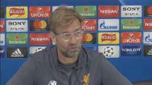 News video: Klopp tells players to be brave against Real in Champions League final