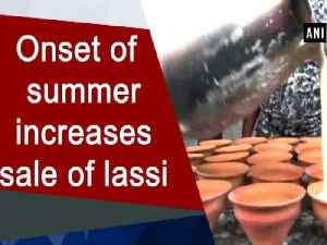 News video: Onset of summer increases sale of lassi