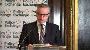 News video: Gove says Brexit provides new opporunities
