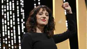 News video: Asia Argento Calls Cannes Harvey Weinstein's 'Hunting Ground' In Festival Speech