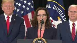 Gina Haspel sworn in as new CIA director [Video]