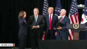 News video: Gina Haspel Sworn-In As The New CIA Director