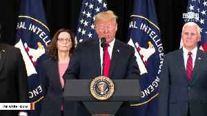 News video: Trump Delivers Remarks At Gina Haspel's Swearing-In Ceremony