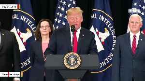 News video: Trump Calls Devin Nunes A 'Very Courageous Man' During Haspel's Swearing-In Ceremony