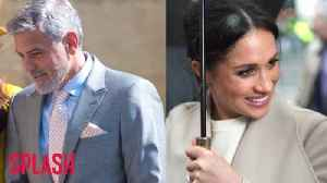 News video: George Clooney danced with Meghan Markle at the royal wedding reception.