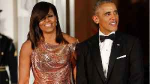 News video: The Obamas Are Partnering W/ Netflix