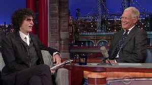 News video: Howard Stern & David Letterman About Trump'