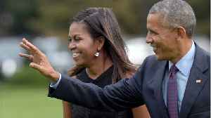News video: Barack And Michelle Are Teaming With Netflix