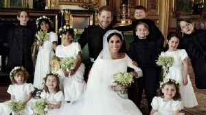 News video: Mini-Superstars Steal the Show in Royal Wedding Photos