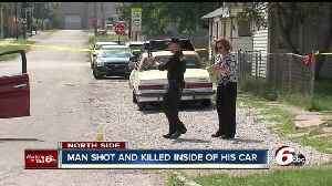 News video: One man shot, killed in car on Indy's northeast side