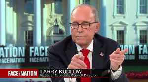 News video: Kudlow says 'not at detailed point' on China negotiations