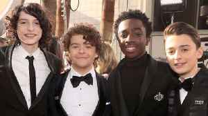 News video: Stranger Things Cast UNITES Amid Finn Wolfhard Departure Rumors | 2018 Golden Globes
