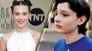 News video: 'Stranger Things' Cast SLAYS the 2018 SAG Awards Red Carpet WITHOUT Finn Wolfhard; Where Was He?!