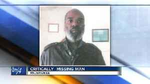 News video: Milwaukee police ask for help locating critical missing man