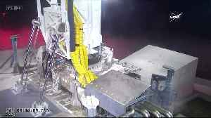 News video: Cargo supply ship launches for ISS