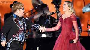 News video: Miley Cyrus Performs With Sir Elton John; First Time Since Taylor Swift | 2018 Grammys