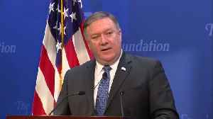 "News video: Iran to face ""the sting of sanctions"": Pompeo"