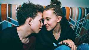 News video: Millie Bobby Brown & Jacob Sartorius Get VERY Public About Their Love for Valentine's Day