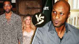 News video: Khloe Kardashian's Ex Lamar Odom Won't Keep Her Name Out of His Mouth & Tristan Thompson is PISSED