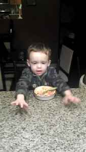News video: Tot Boy Tells Dad To Stop Singing So He Can Eat Cereal