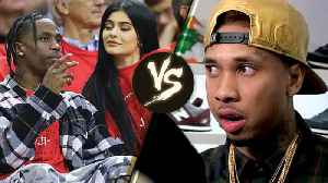 "News video: Travis Scott Wants Tyga to ""STAY AWAY"" from Kylie Jenner AND Their Baby"
