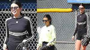 News video: Kendall Jenner Makes 1st Public Appearance Since Hospitalization at Kardashian Family Softball Game