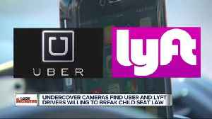 News video: Hidden camera investigation shows Uber & Lyft drivers willing to break law