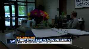 Kenosha school district reveals plans for student safety improvements