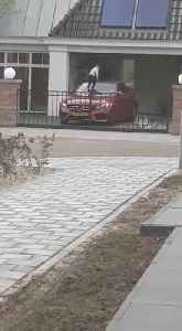 News video: Kid Uses Mercedes C180 as a Trampoline