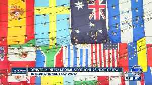News video: Denver in international spotlight as host of International Pow Wow