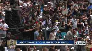 News video: Golden Knights advance to Stanley Cup Final