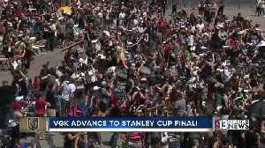 News video: Golden Knights clinch Western Conference series against the Jets, advance to Stanley Cup Final