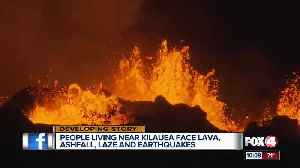 News video: Lava continues to erupt from Kilauea Volcano