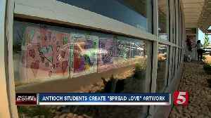 News video: Students Create Artwork For Waffle House