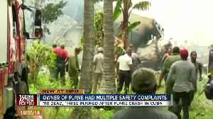 News video: Cuba plane crash