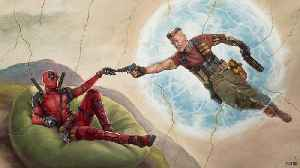 News video: 'Deadpool 2' Kicks 'Infinity War' From Top Box Office Spot